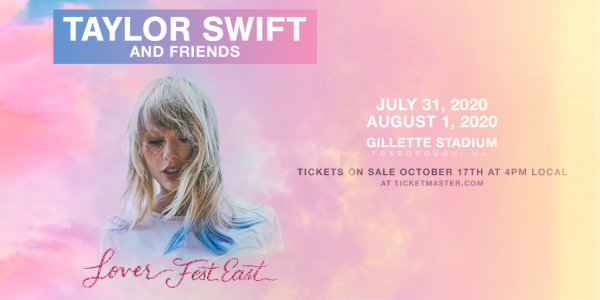 image for Taylor Swift's Lover tour At Gillette