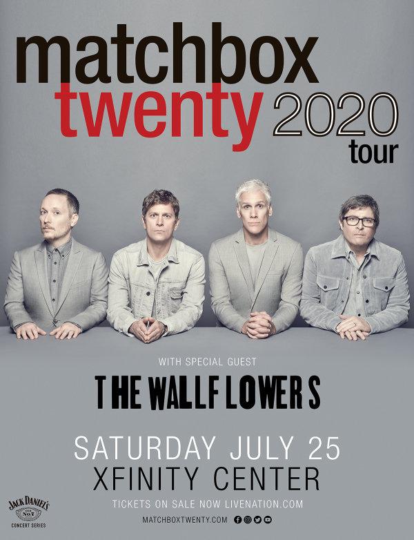 image for Matchbox Twenty at the Xfinity Center