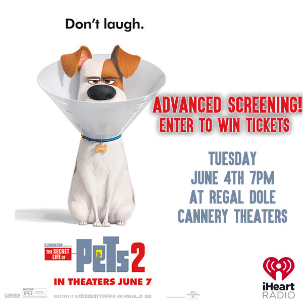 None - Enter to win tix to the Secret Life of Pets 2 Advanced Screening