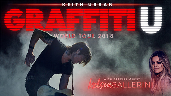 Keith Urban Graffiti U Tickets