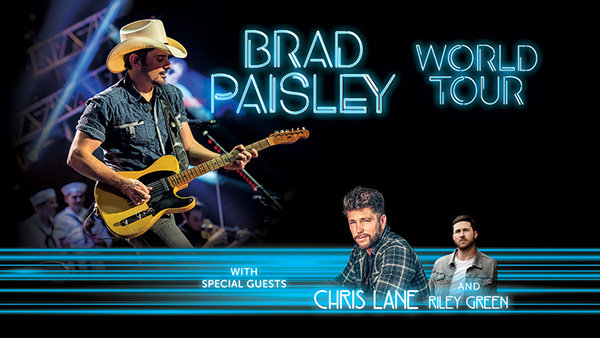 None - Brad Paisley World Tour 2019 Tickets
