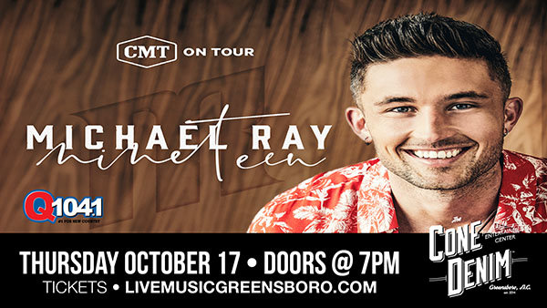 Q104.1 Presents CMT on Tour: Michael Ray with Jimmie Allen