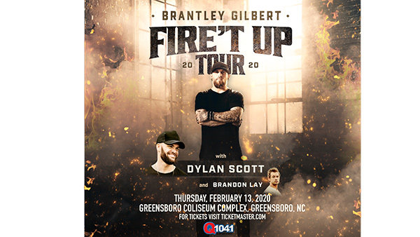 None - Q104.1 Proudly Presents Brantley Gilbert