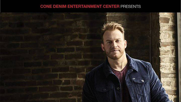 None - Q104.1 Presents Jon Langston at Cone Denim Entertainment