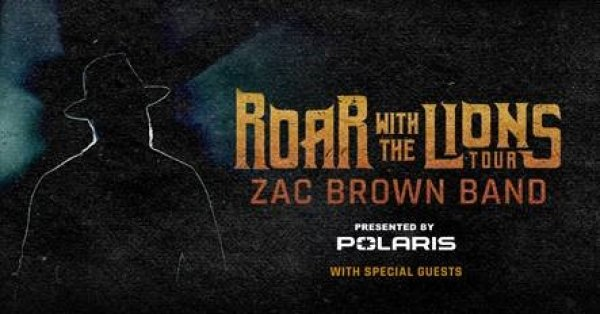 None - Zac Brown Band Roar with the Lions Tour Tickets