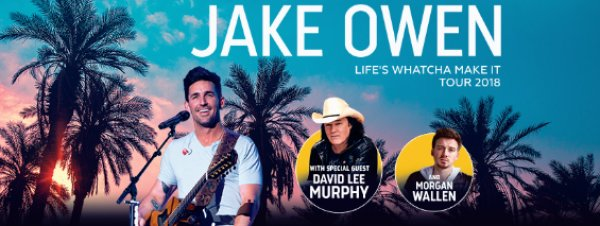 None - Win tickets to see Jake Owen!
