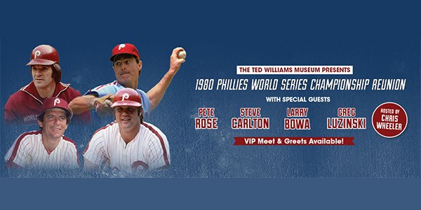 image for Phillies 40th Anniversary Show Hosted By Chris Wheeler
