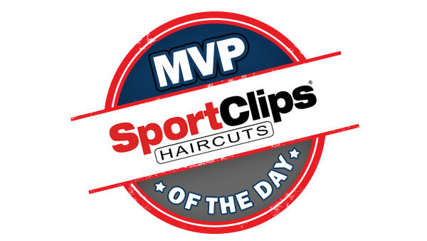 Sport Clips MVP Moment of the Day