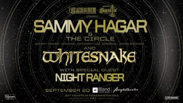 image for Win tickets to Sammy Hagar with Whitesnake and Night Ranger