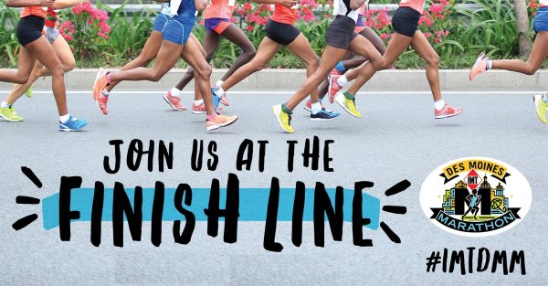 None - Win Free Registration to ANY of the IMT Des Moines Marathon Individual Races