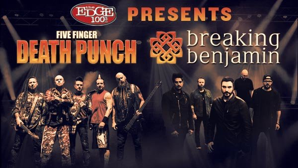 1003 the edge contests tickets trips more 1003 the edge the edge presents five finger death punch breaking benjamin m4hsunfo