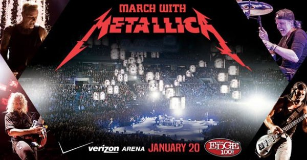None - March With Metallica