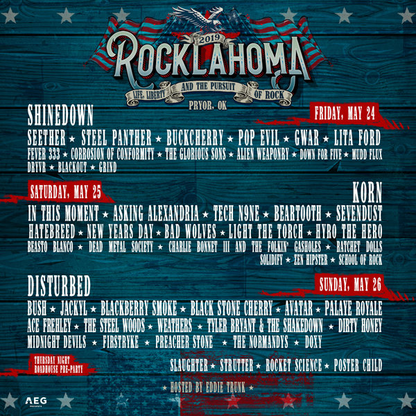 None - Win Rocklahoma Weekend Tickets and Camping Passes!