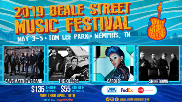 None - Beale Street Music Festival Weekend Passes!
