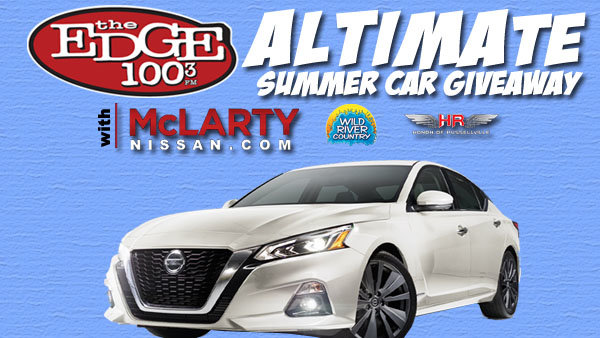 None - McLarty Nissan and The Edge's ALTIMAte Summer Car Giveaway!