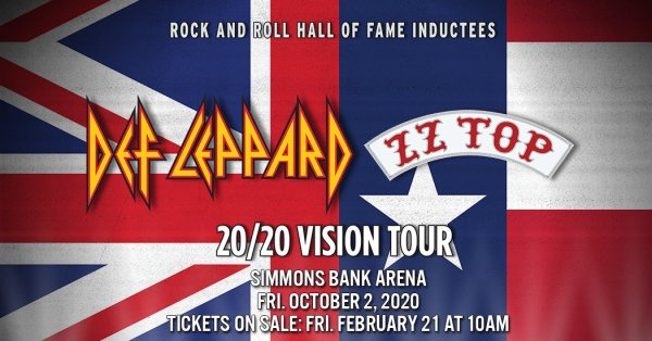 image for Win Tickets To See Def Leppard & ZZ Top with The Edge!