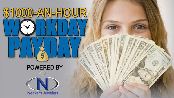 None - Listento Win $1,000 Every Hour!