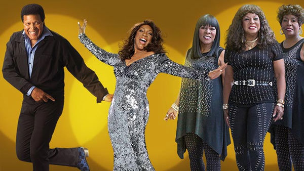None - Chubby Checker, Mary Wilson of the Supremes and Martha Reeves & The Vandellas in concert!