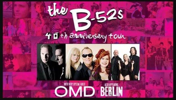 None - The B-52s | 40th Anniversary Tour