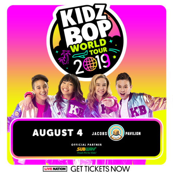 None - Win tickets to Kidz Bop  - August 4, 2019 - Jacobs Pavillon