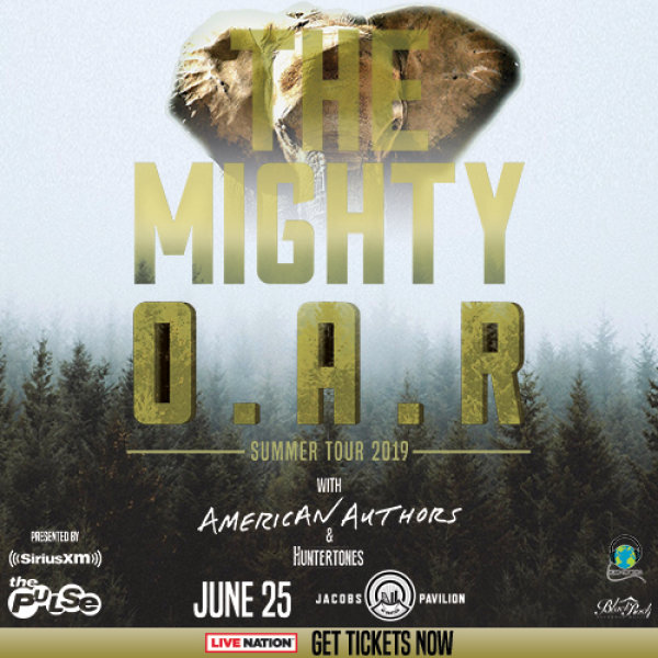 None - Win tix to O.A.R. w/American Authors - June 25th - Jacobs Pavilion