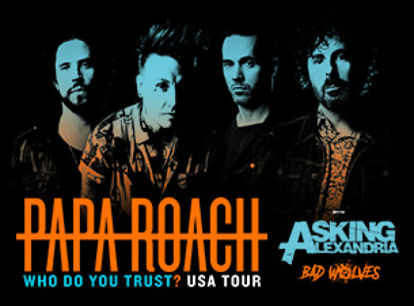 None - Win Tickets To Papa Roach!