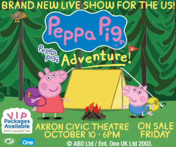 None - Win Tickets To Peppa Pig!