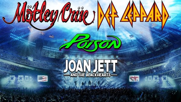 image for Win Tickets To Def Leppard & Motley Crue with Poison and Joan Jett & The Blackhearts!
