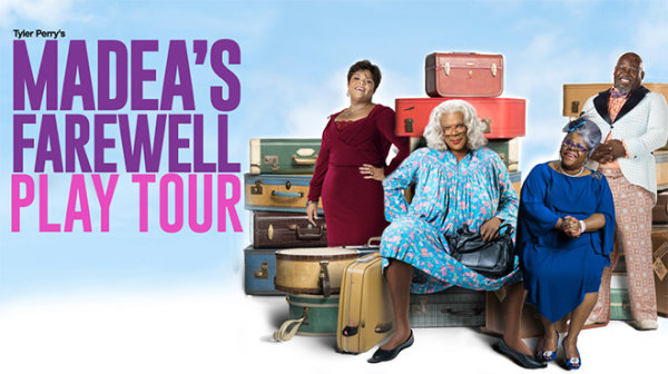 None - See Madea live for the final time