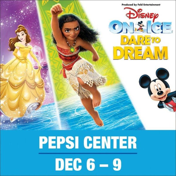 None - Win a 4-pack of tickets to Disney on Ice!