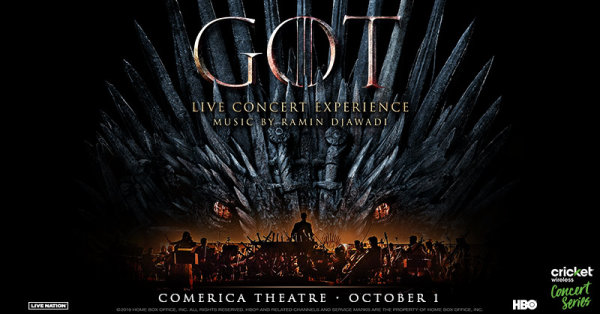 None - Win tickets to see Game of Thrones Live Concert Experience!