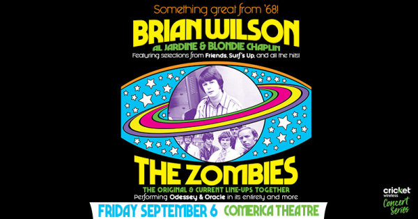None - Win tickets to see Brian Wilson!