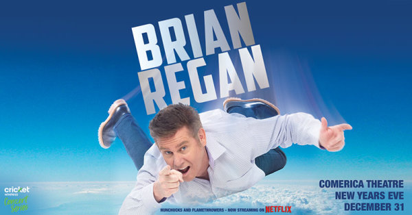 None - Win tickets to see Brian Regan!