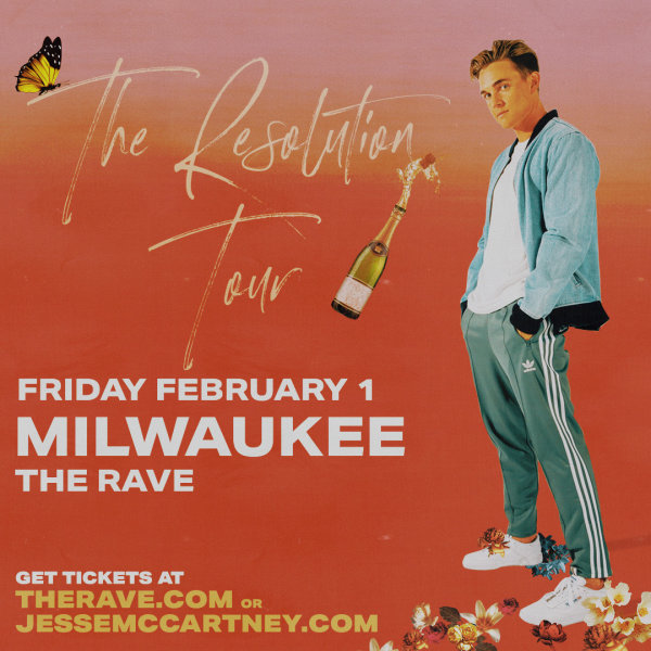 None - Win tickets to see Jesse McCartney at The Rave