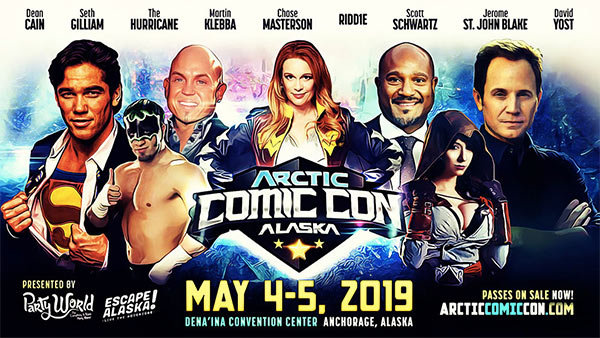 None -  Arctic Comic Con Giveaway