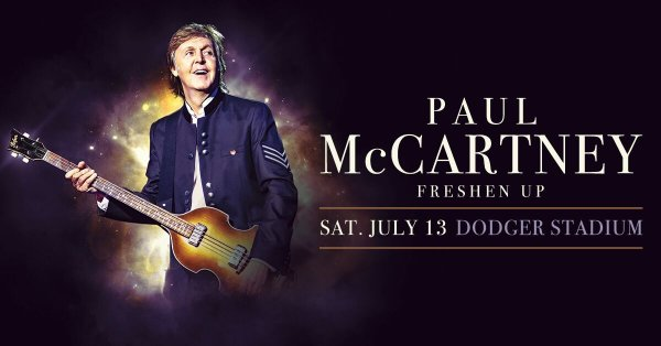None - Win Tickets to see Paul McCartney!