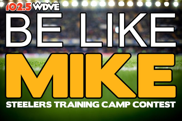 None -              Be Like Mike: Steelers Training Camp Giveaway