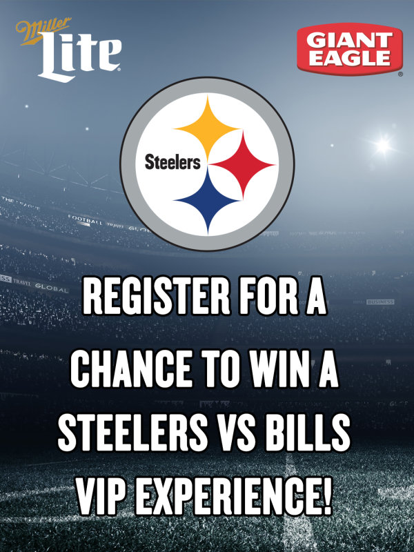 None - Steelers VIP Experience Give Away