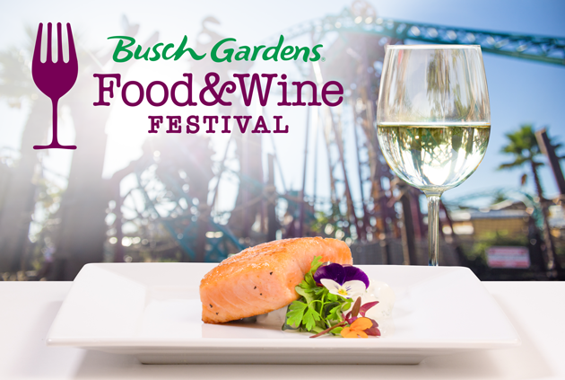 A Family Four Pack Of Tickets To The Busch Gardens Food And Wine Festival Sweepstakes Giveaways